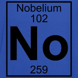 Element 102 - No (nobelium) - Full T-shirts - Tanktopp dam från Bella