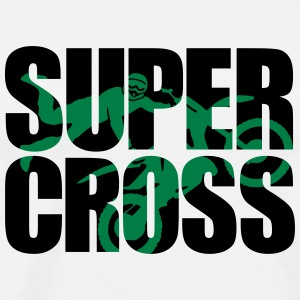 Supercross Shadow 2 Kepsar & mössor - Premium-T-shirt herr