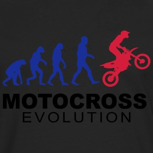 Motocross Evolution slick Tee shirts - T-shirt manches longues Premium Homme