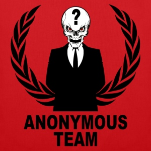 anonymous skulls  team Pullover & Hoodies - Stoffbeutel