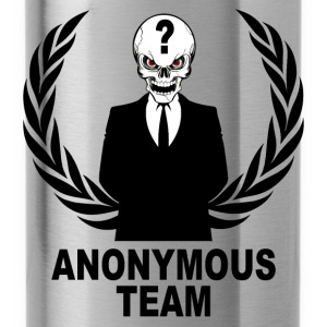 anonymous skulls  team Pullover & Hoodies - Trinkflasche
