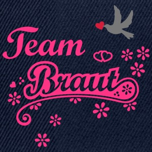 Team Braut Heirat Brautjungfer heiraten T-Shirts - Snapback Cap