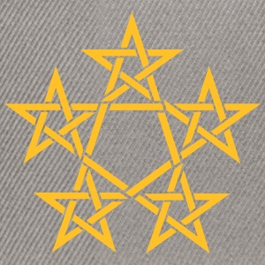 Pentagram, 5 Stars, Pentagon, Golden Ratio Felpe - Snapback Cap