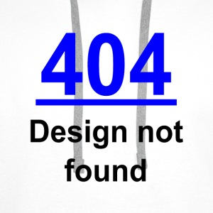 404 design not found Shirts - Men's Premium Hoodie