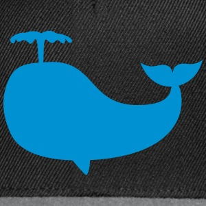 whale baleine Tee shirts - Casquette snapback