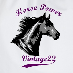 Horse Power Design T-shirts - Gymnastikpåse
