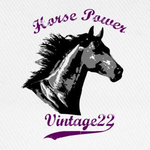Horse Power Design T-shirts - Baseballcap