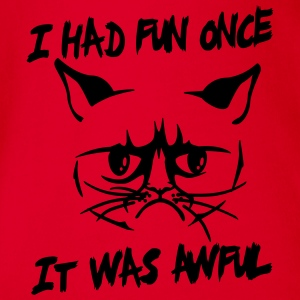 I had fun once, it was awful Tee shirts - Body bébé bio manches courtes