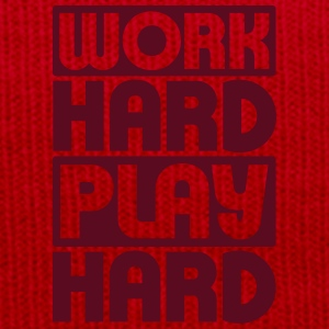 Work Hard Play Hard T-shirts - Vintermössa