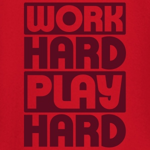 Work Hard Play Hard T-shirts - Långärmad T-shirt baby