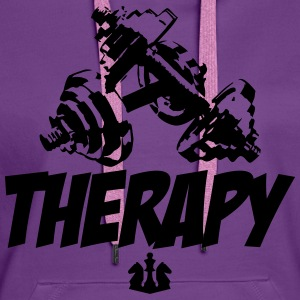 Therapy T-shirts - Vrouwen Premium hoodie