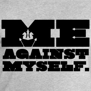 Me Against Myself T-Shirts - Männer Sweatshirt von Stanley & Stella