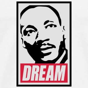 Obey x Dream MLK Hoodies & Sweatshirts - Men's Premium T-Shirt