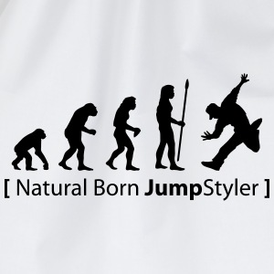 evolution_born_jumpstyler Langarmshirts - Turnbeutel