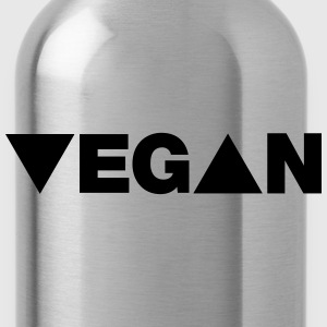 Vegan - Triangle T-Shirts - Water Bottle