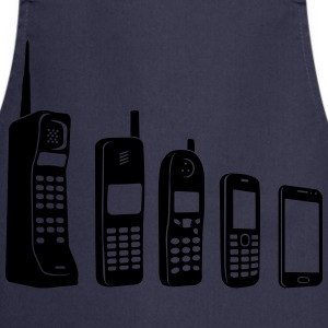Evolution Mobile  Camisetas - Delantal de cocina