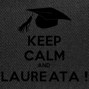 Keep calm and laureata - Snapback Cap