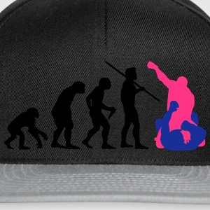 Men's Evolution of Man - MMA #1 T-Shirt - Snapback Cap