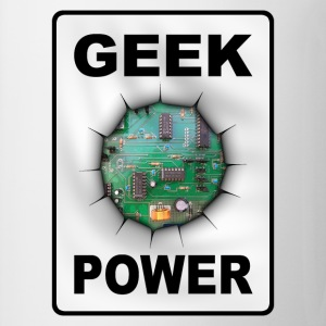 Geek power Langarmshirts - Tasse
