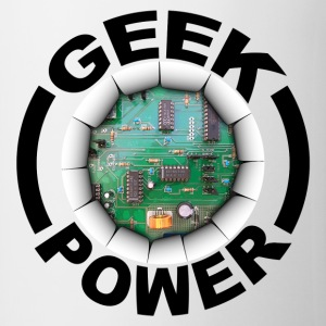 Geek power 02 Langarmshirts - Tasse