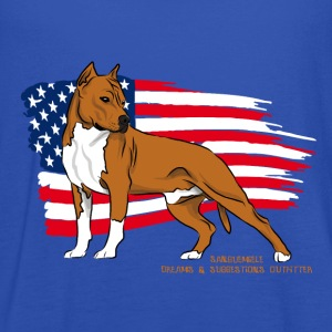 amstaff_usa_flag T-Shirts - Frauen Tank Top von Bella