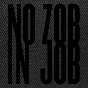 Noir no zob in job  T-shirts - Casquette snapback