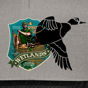 wetlands Hoodies & Sweatshirts - Snapback Cap