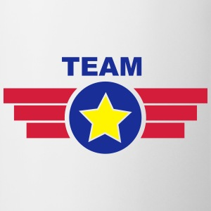 Team Emblem Banner Logo Badge 3c T-Shirts - Tasse
