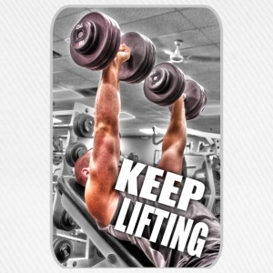 Keep Lifting - Gym - Weight Training - Muscle T-Shirts - Baseball Cap