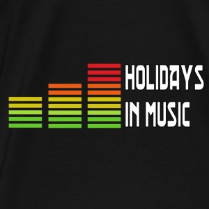 Holidays in music Barn & baby - Premium-T-shirt herr