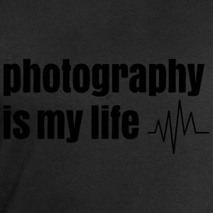 photography is my life la photographie est ma vie Tee shirts - Sweat-shirt Homme Stanley & Stella