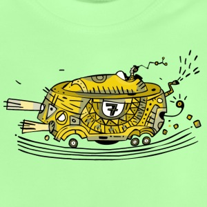 Racing car No. 7 / yellow Shirts - Baby T-Shirt