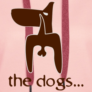 the dogs... T-Shirts - Women's Premium Hoodie