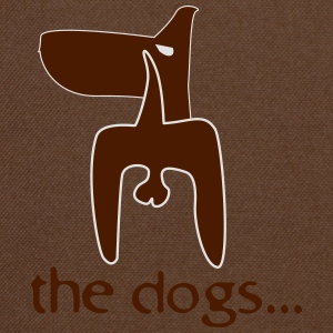 the dogs... T-Shirts - Shoulder Bag