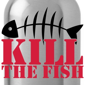 kill the fish T-Shirts - Water Bottle