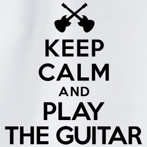 Keep calm and play the guitar Bouteilles et tasses - Sac de sport léger