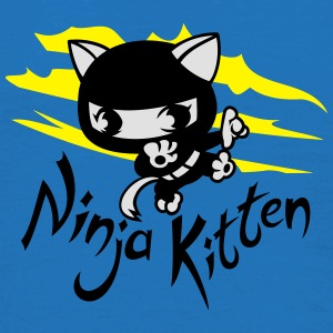 Ninja kitten Umbrellas - Men's T-Shirt