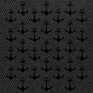 anchor pattern modèle d'ancre Tee shirts - Casquette snapback
