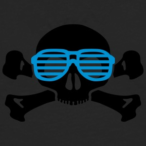 Geek skull glasses women t shirt - Men's Premium Longsleeve Shirt