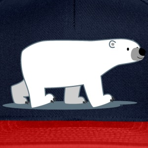 Walking Cartoon Polar Bear - Cheerful Madness!! Bags & backpacks - Snapback Cap