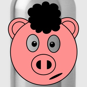 Afro Piggy T-Shirts - Water Bottle