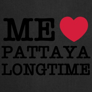 ME LOVE PATTAYA LONGTIME Bags - Cooking Apron