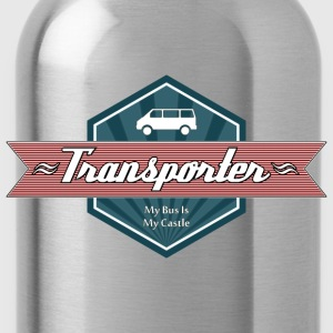 Transporter Retro-Red [Lady] - Trinkflasche