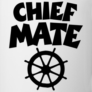 Chief Mate T-Shirt (Weiß) - Tasse