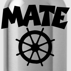 Mate T-Shirt Wheel (Navy/Front) - Trinkflasche