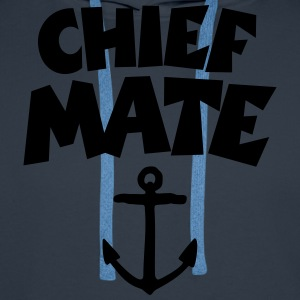 Chief Mate Anchor T-Shirts - Men's Premium Hoodie