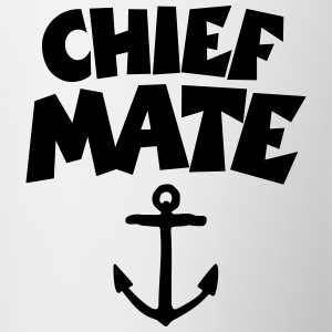 Chief Mate T-Shirt Anchor (White/Back) - Tasse