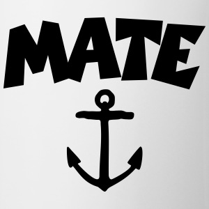 Mate T-Shirt Anchor (White/Front) - Tasse
