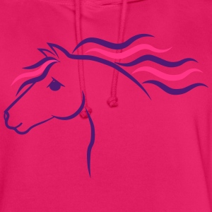 Horse T-shirts - Hoodie unisex