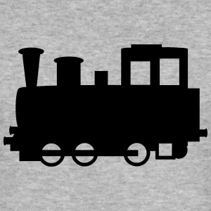Locomotive à vapeur - Locomotive Sweat-shirts - Tee shirt près du corps Homme